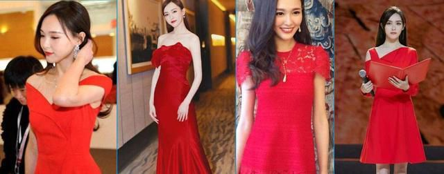 女星穿红裙谁最惊艳?林青霞第一,范冰冰赵薇随后,这几位不适合