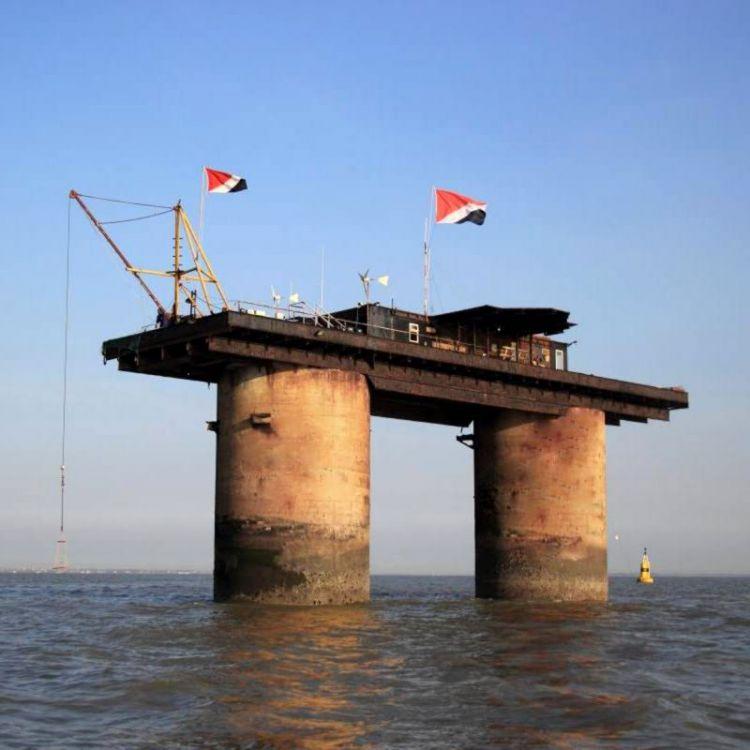 英国海军废弃的海上堡垒,为何成了西兰公国?