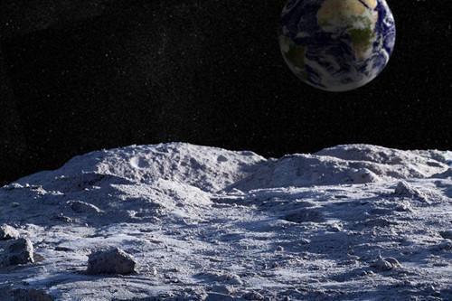 30年前月球出现战斗机?它的真实身份会是什么?或是外星人干的