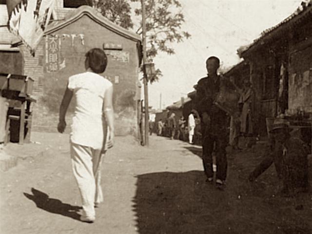三十年代济南,新建门普利街二大马路