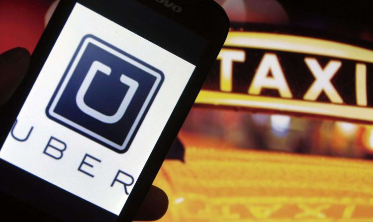 Uber敲钟上市开盘破发跌6%