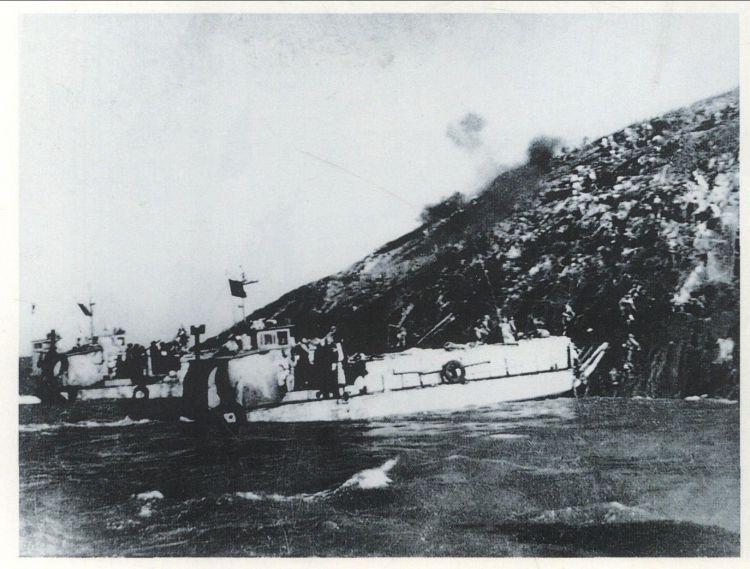 一江山岛战役,解放军第一次海陆空联合作战