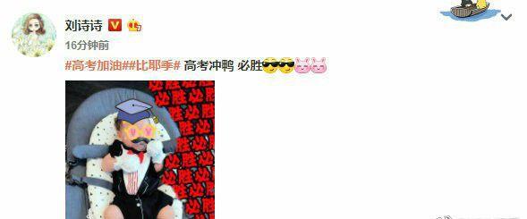 刘诗诗晒儿子近照,并亲手为其刺绣小老虎吊坠,被网友大赞心灵手巧