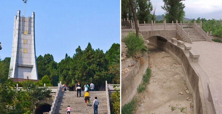 """实拍刘伯承墓地,被""""长龙""""环绕,安葬在129级台阶有特殊意义"""