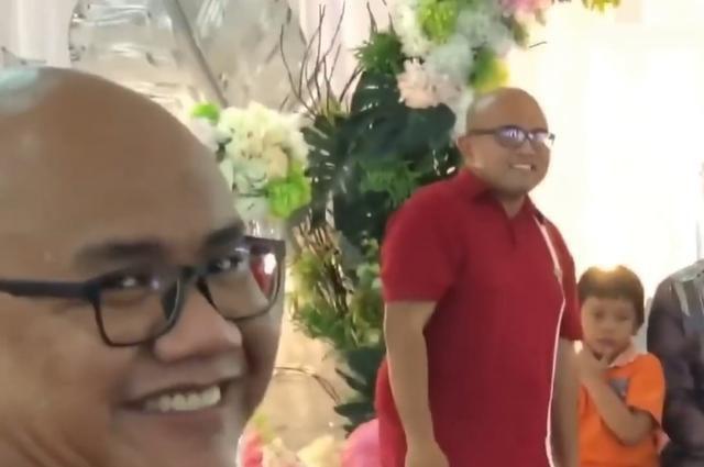 世纪巧合!婚礼上这两男子让全场笑翻,他们毫无关联你信吗