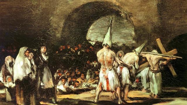 """黑暗中世纪的""""国民偶像"""":拿带钉长鞭抽自己,粉丝看了痛哭流涕"""
