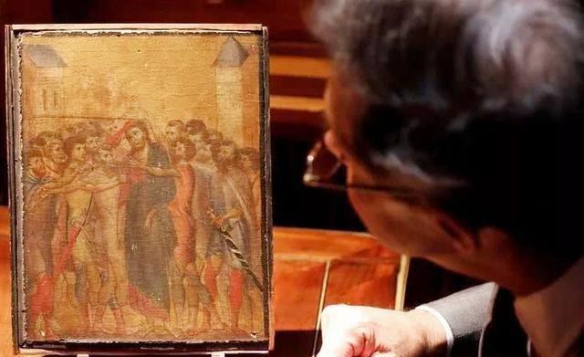 九旬老人一幅画火烤烟熏50年,竟然拍得近2亿!网友:奇迹!