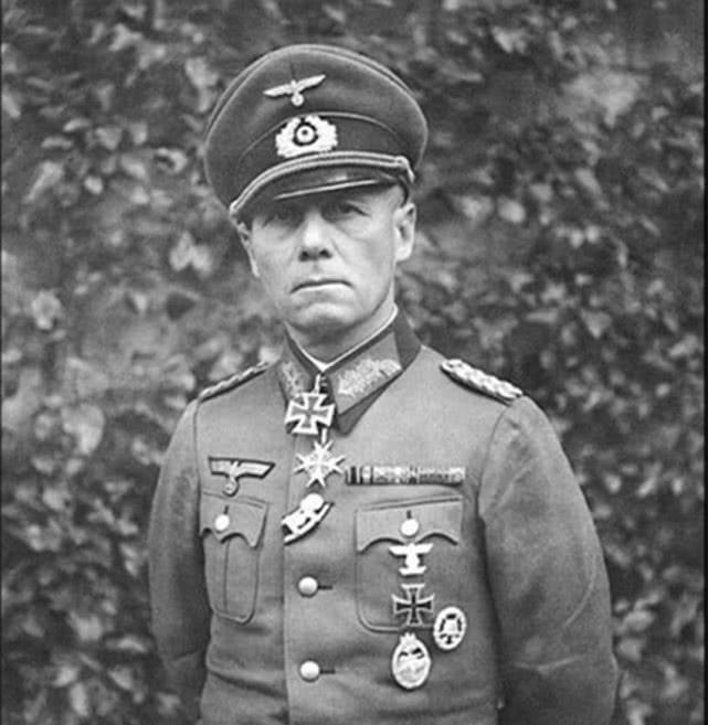 他與隆美爾齊名,擁有元帥之才,元帥戰功,卻無元帥軍銜