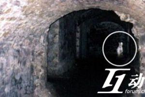 爱丁堡山洞中的神秘白影
