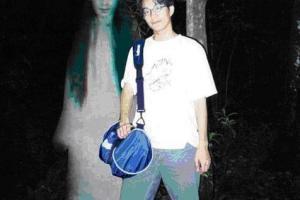 照相的时候多出一个恐怖鬼影