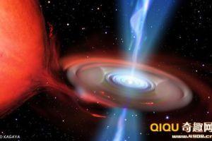 科学家模拟实验:人体落入黑洞后看到怎样的景象