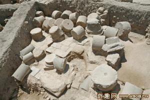 [图文]以色列发掘出一处古罗马时代神殿遗迹 建造于公元2世纪