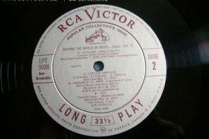 世界上第一张唱片 于1888年录制而成