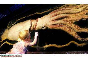 神秘巨型鱿鱼生存在大平洋 盘点世界十大海怪