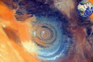 什么叫撒哈拉之眼 撒哈拉之眼有多大