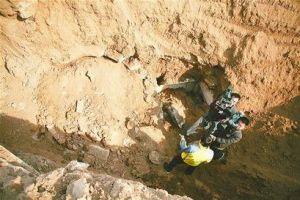 济南发现金元时期古墓 穹隆墓顶用料精致