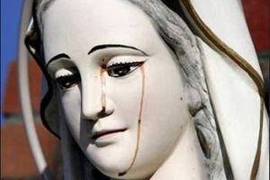 灵异未解之谜 澳洲圣母像显神流泪