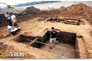 北京房山区发现一处古墓 初步判断为汉代家族墓