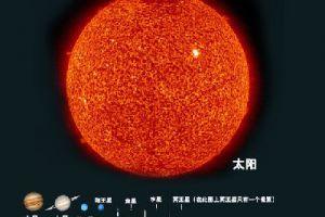 世界已知最大的星体是盾牌座UY 过去最大的星体是大犬座vy