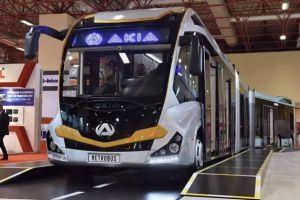 世界上最长的公交车 可以承载290名乘客
