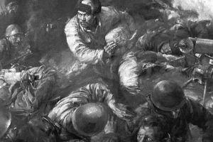 """朝鲜战场首位""""特级英雄"""",最后一刻,他抱起炸药包冲向40多个美军士兵"""