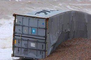 男子海边发现破旧集装箱,一起打开后,里面的东西让人惊喜不已
