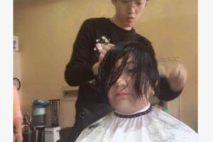 胖大姐去理发,要求做瘦脸的发型,成品出来后惊艳了