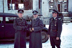 苏德战争期间,德军占领下的苏联城镇