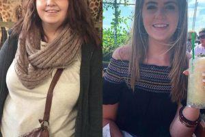 英国女子为减肥开始自己做饭,拒绝外卖和速食产品,一年瘦60斤