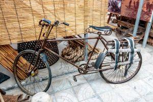 """载重200公斤的自行车:国内首创,被农民誉为""""不吃草的铁毛驴"""""""