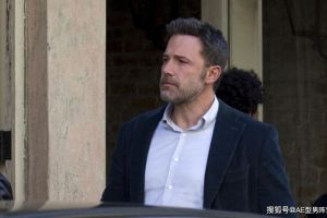 48岁本·阿弗莱克现身电影片场!好莱坞男神,又瘦回了蝙蝠侠模样