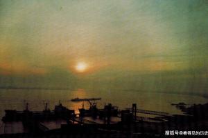 老照片80年代武汉白浒山外贸码头湖北对外开放的历史见证