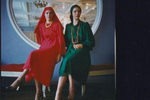 老照片1978年的苏联模特看看那时候苏联的时装