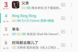 She15年前的歌杀进父亲节榜单,华语音乐凋零只能靠短视频翻红