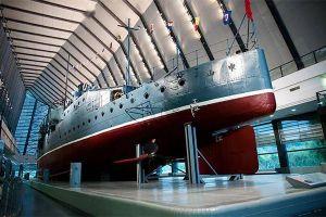 武汉市中山舰博物馆激荡红色旋律
