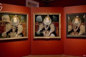 """全球好展430年来首次公开展示3幅最著名的""""伊丽莎白一世""""亮相英国"""