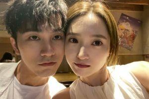 杨凯雯穿制服像甜剧女主,分享甜蜜合照,和赵琦君越来越有夫妻相