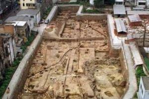 南越国发现两千年前的古井,古人为保水质清澈,竟用三种高科技