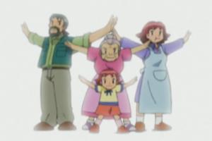 《宝可梦》奇闻趣事:动画中的连胜家族,小银与坂木的关系!
